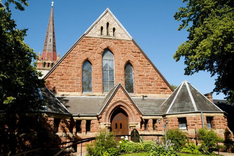St Paul Anglican Church arkivbild