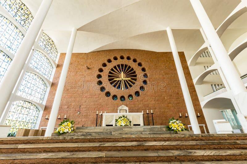 St Paul Apostle Cathedral, Blumenau fotografía de archivo libre de regalías