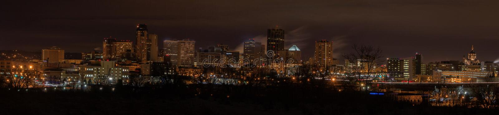 St. Paul is the Capitol of, and Major City in, the State of Minn royalty free stock photos