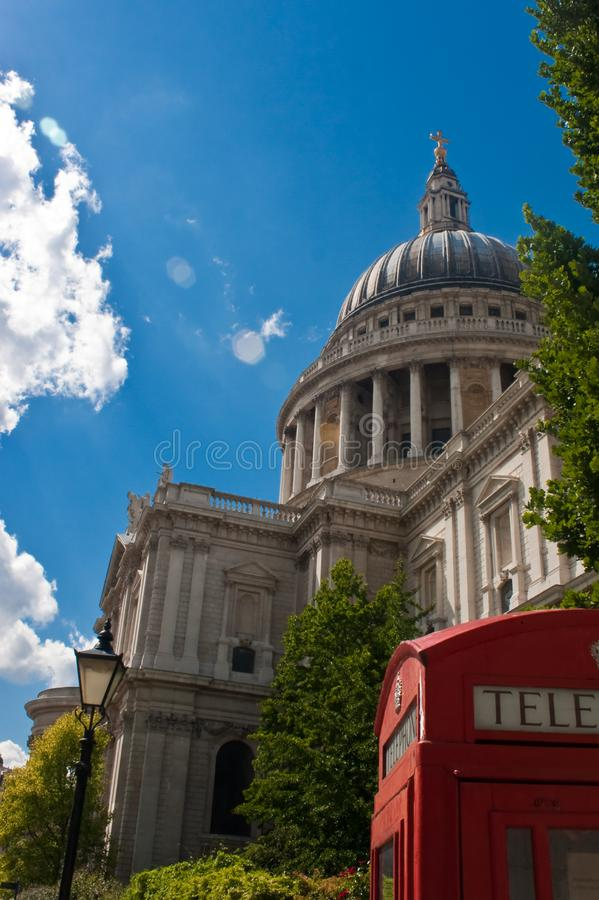 Download St paul cathedral stock image. Image of building, grass - 14898597