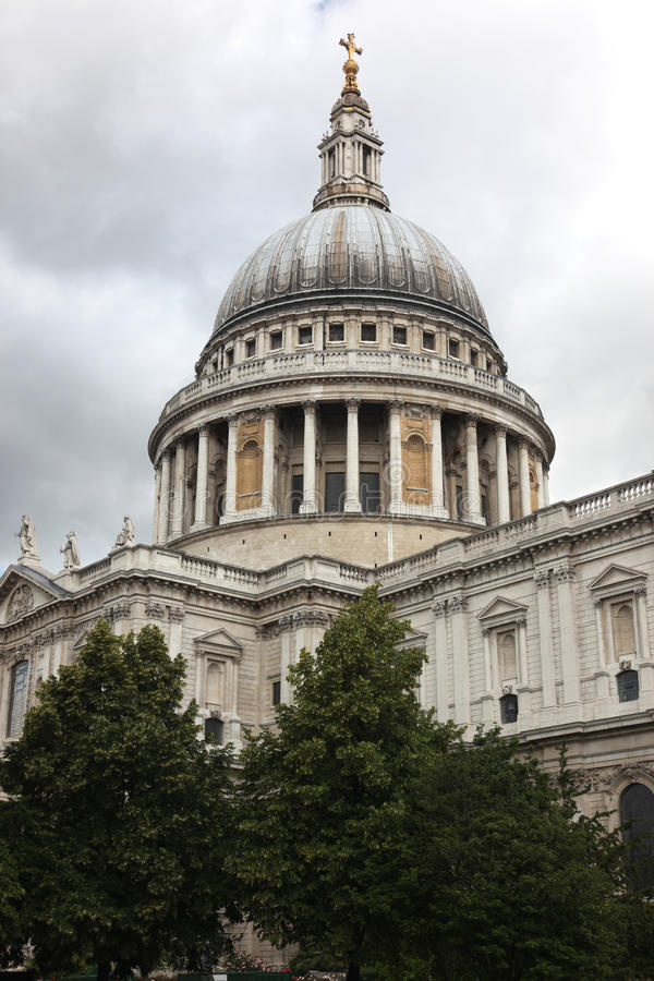 Download St Paul Cathedral stock photo. Image of dome, town, ancient - 28017976