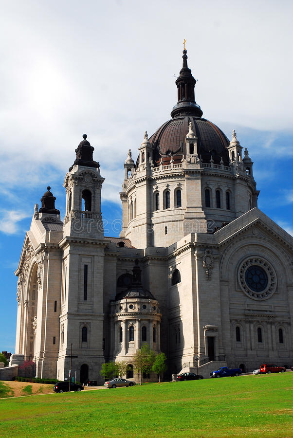 St Paul Cathedral imagem de stock royalty free