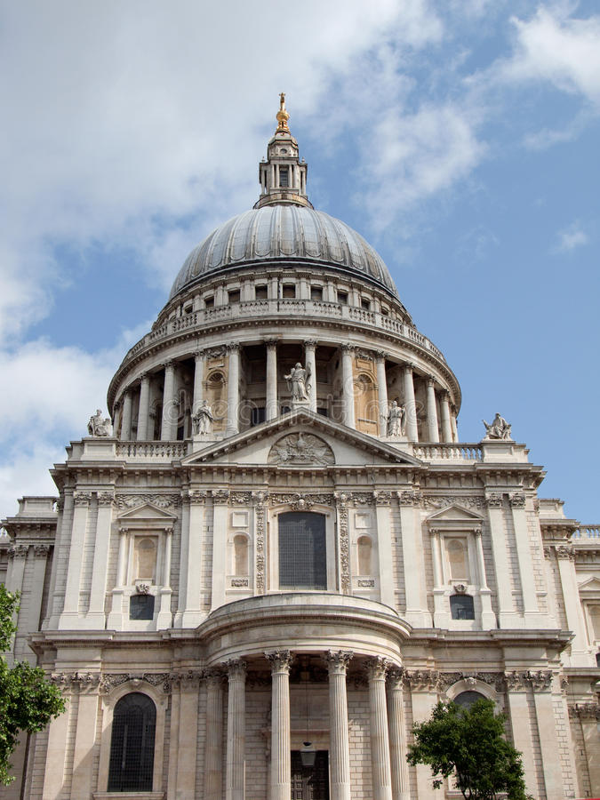 St Paul Cathedral, Londen stock fotografie