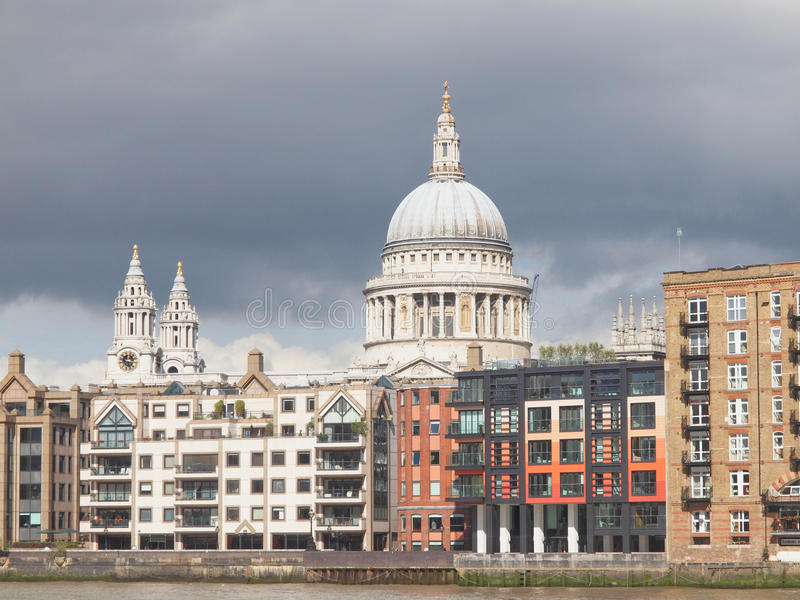 St Paul Cathedral, Londen royalty-vrije stock afbeelding