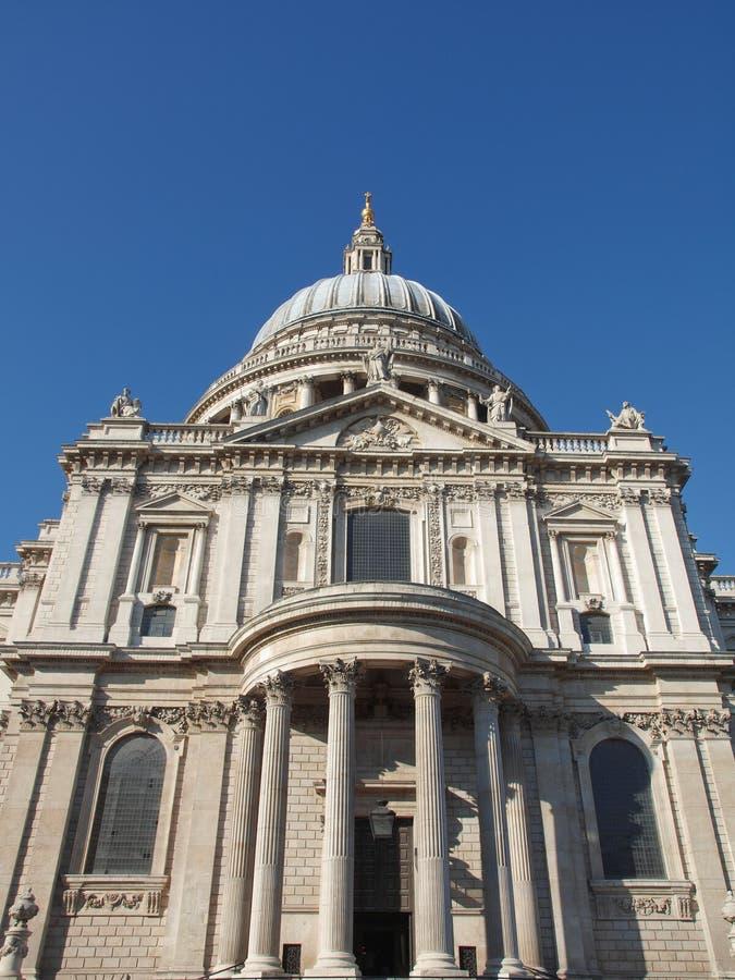 St Paul Cathedral, Londen stock afbeeldingen