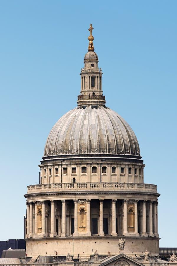 St Paul Cathedral in Londen royalty-vrije stock afbeeldingen