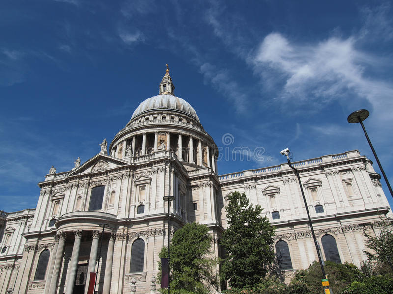 St Paul Cathedral London imagens de stock royalty free