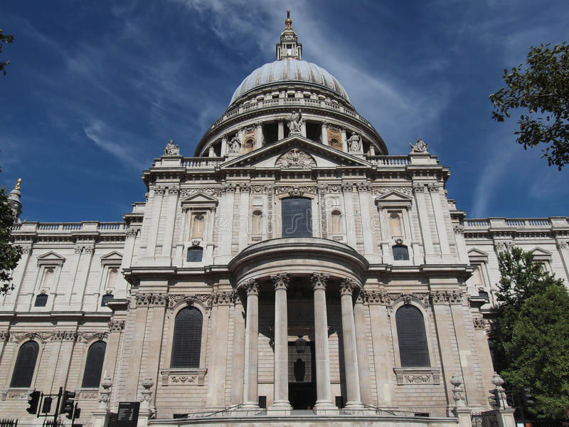 St Paul Cathedral London imagenes de archivo