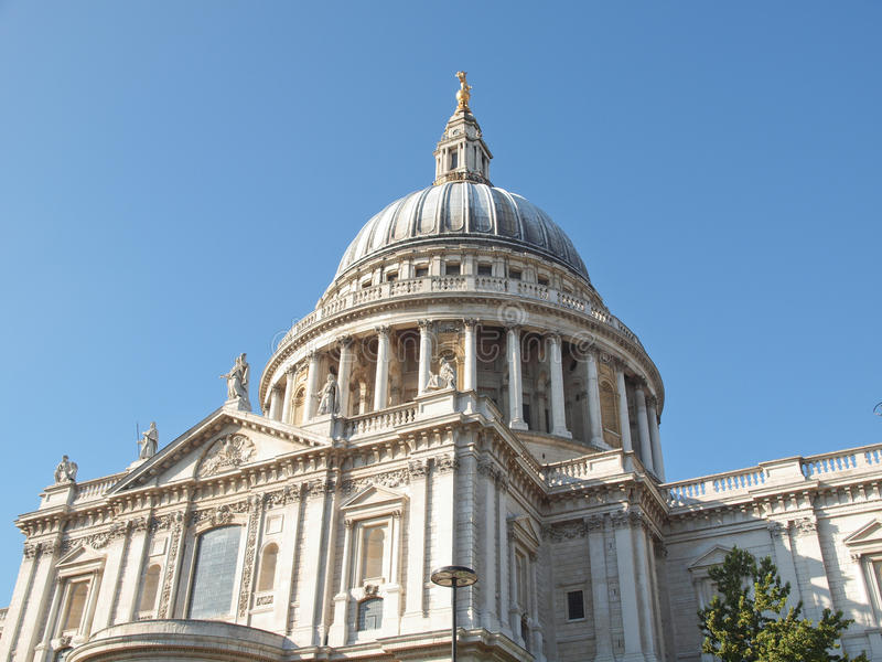 St Paul Cathedral, Londres foto de stock royalty free