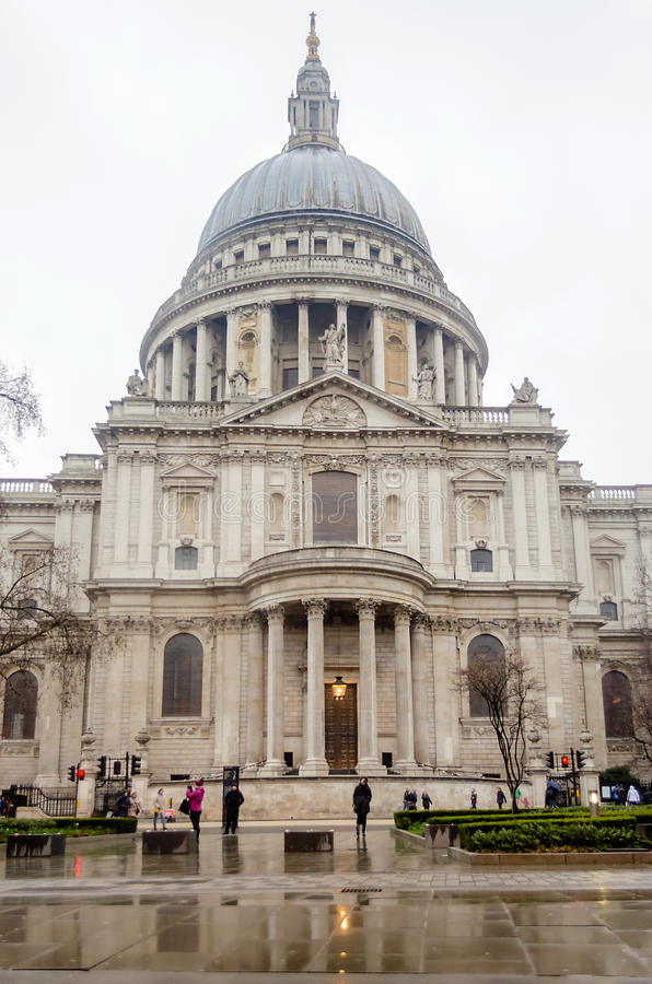 St Paul Cathedral, Londres, R-U image stock