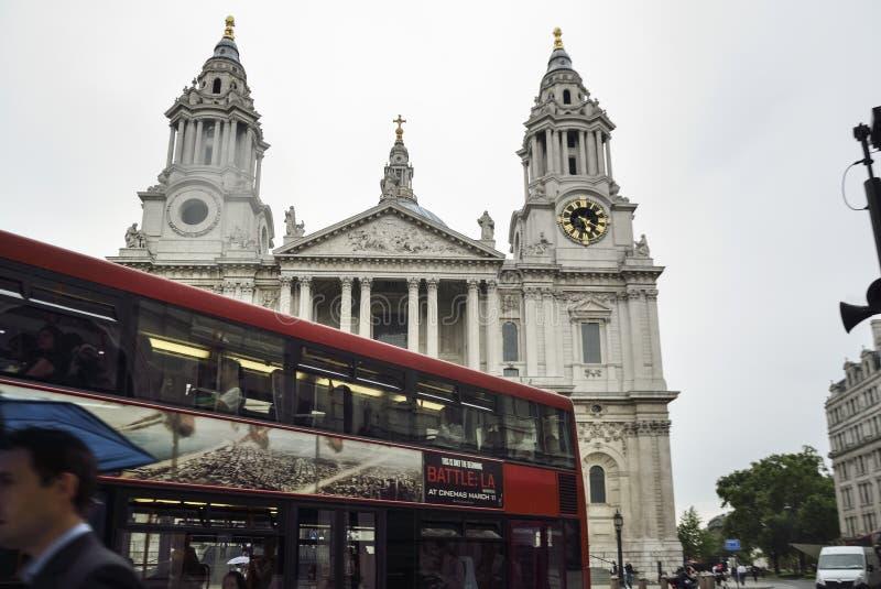 St Paul Cathedral, Londres, R-U photographie stock libre de droits