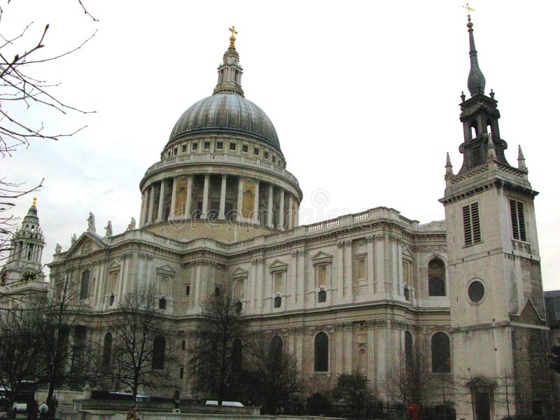 St Paul Cathedral foto de stock royalty free