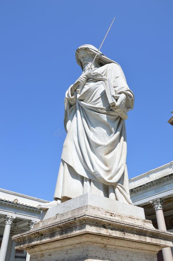 St Paul che protegge la fede fotografie stock libere da diritti
