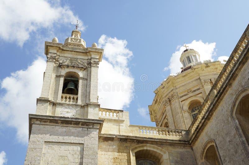 St Paul Church em Rabat fotografia de stock royalty free