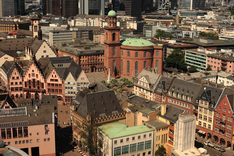 St.Paul Church Frankfurt royalty free stock photography