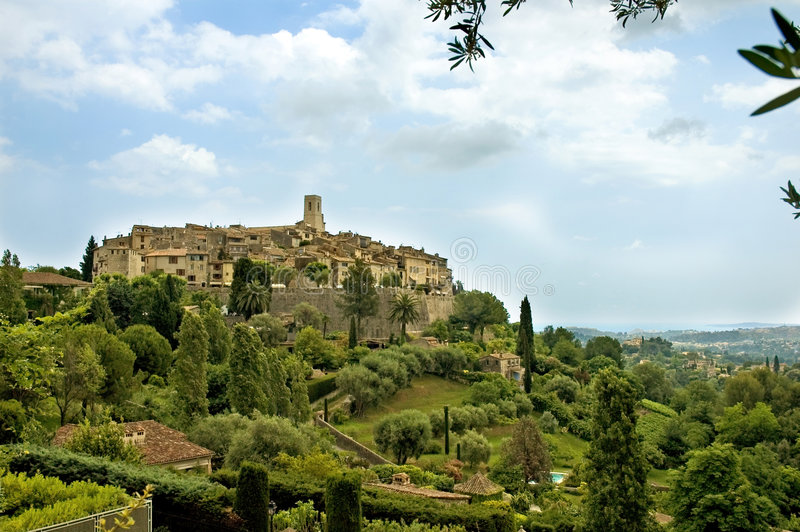 St-Paul-de-Vence royalty free stock images