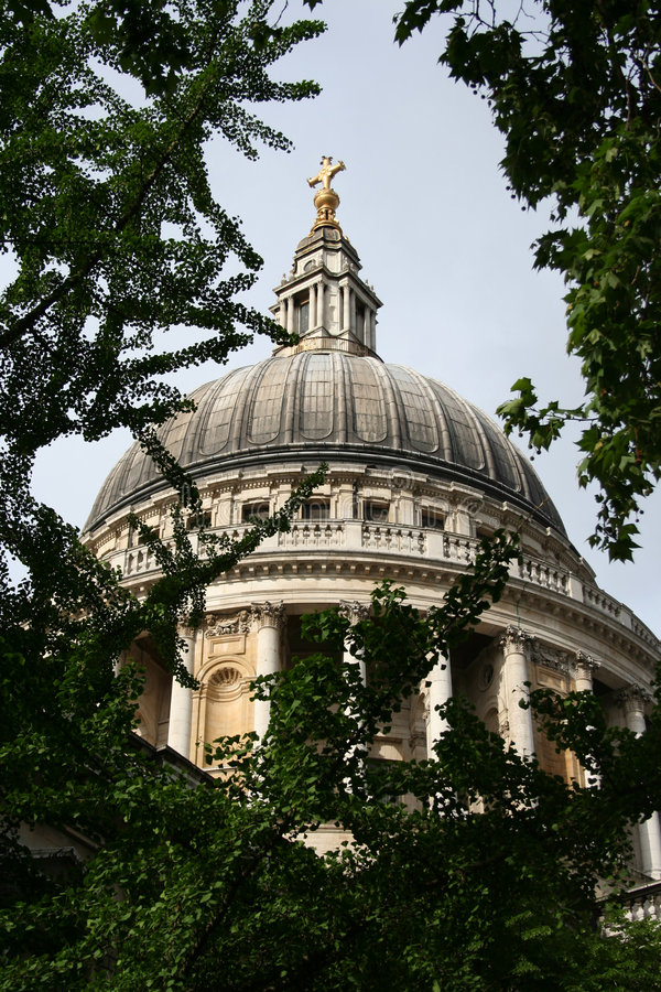 St Paul kathedraal stock foto's