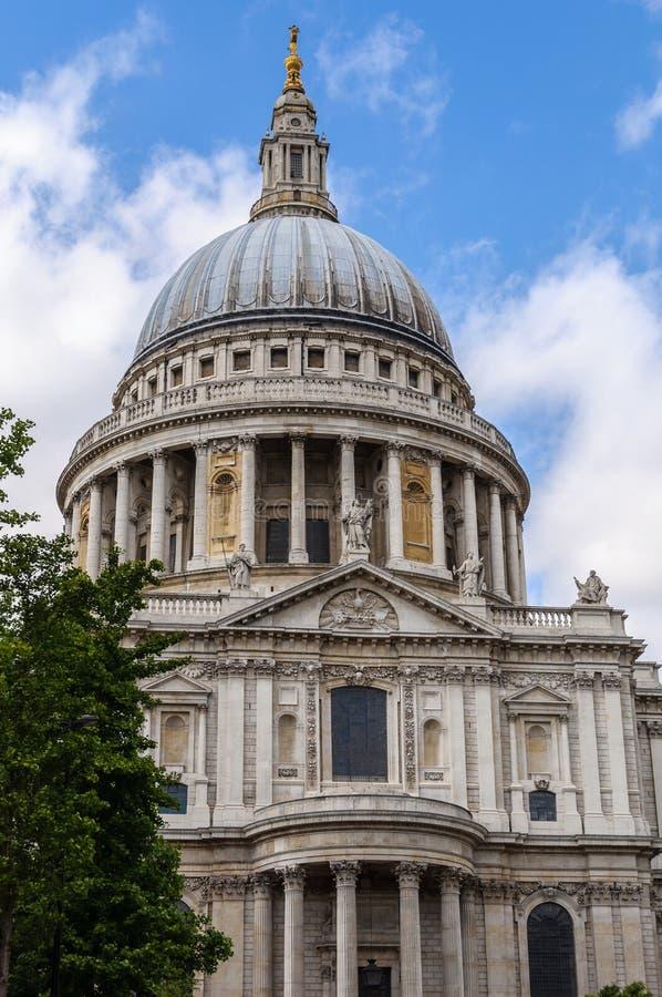 St Paul Kathedrale in London stockfotografie