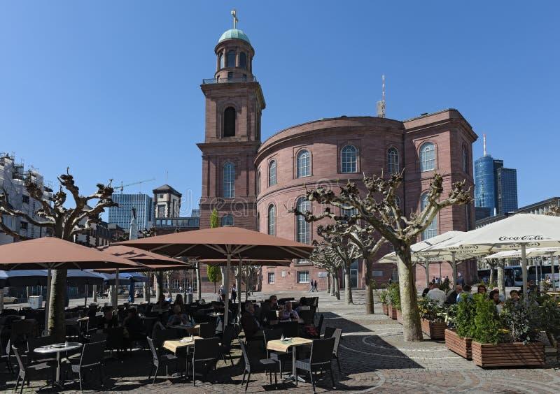 St Paul kerk in Frankfurt-am-Main, Duitsland royalty-vrije stock afbeeldingen