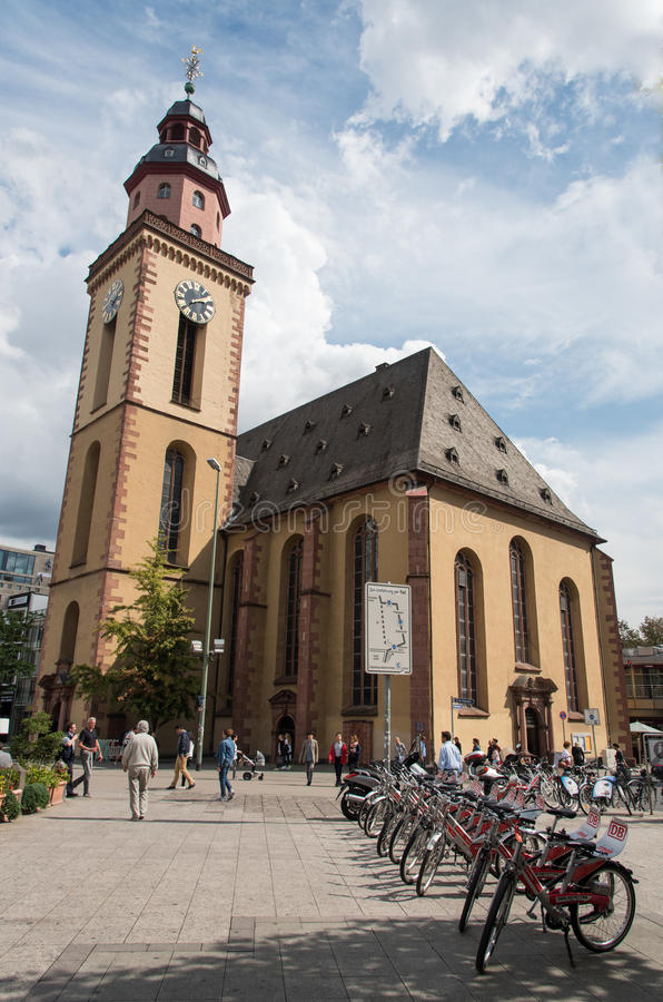 St Paul Kerk, Frankfurt-am-Main Duitsland royalty-vrije stock fotografie