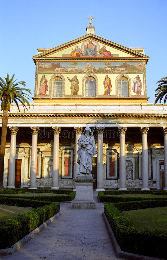 Free St. Paul S Basilica, Rome, Italy Royalty Free Stock Image - 54821966