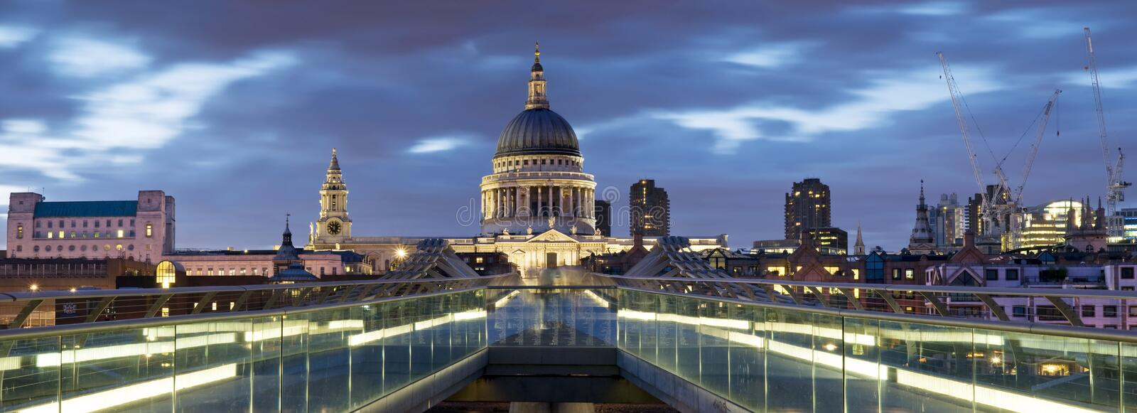 St. Paul's Cathedral, London. royalty free stock photos