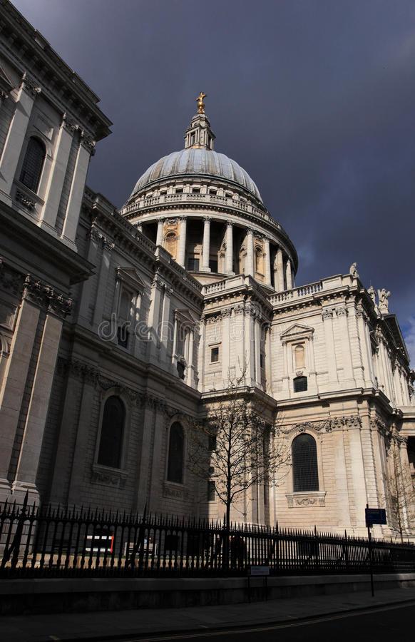St Paul S Cathedral In London Royalty Free Stock Images