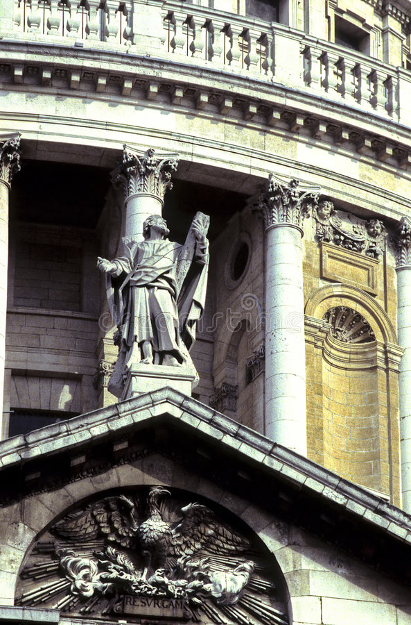 St. Paul's Cathedral- London royalty free stock image