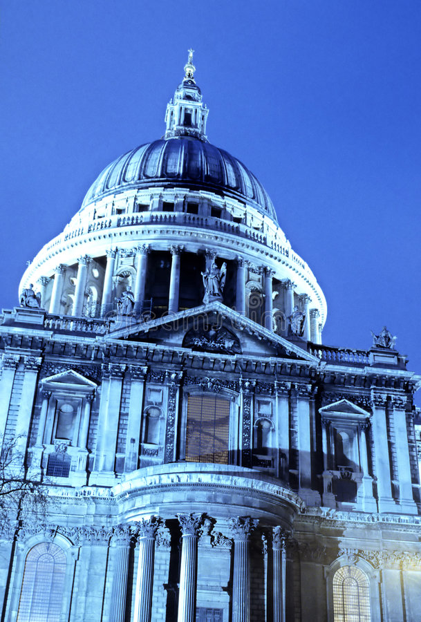 St. Paul's Cathedral- London stock images