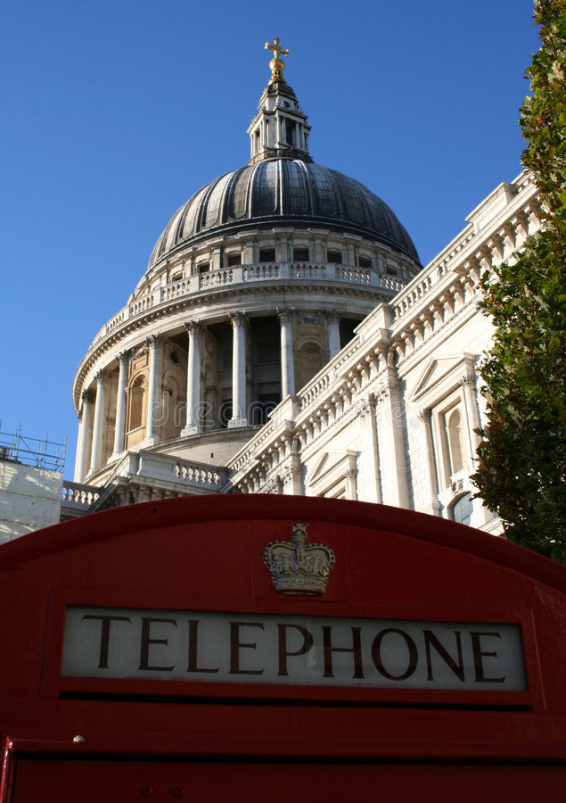 St Paul's Cathedral, London royalty free stock photos