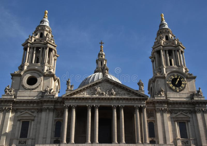 St Paul's Cathedral, London, England royalty free stock image