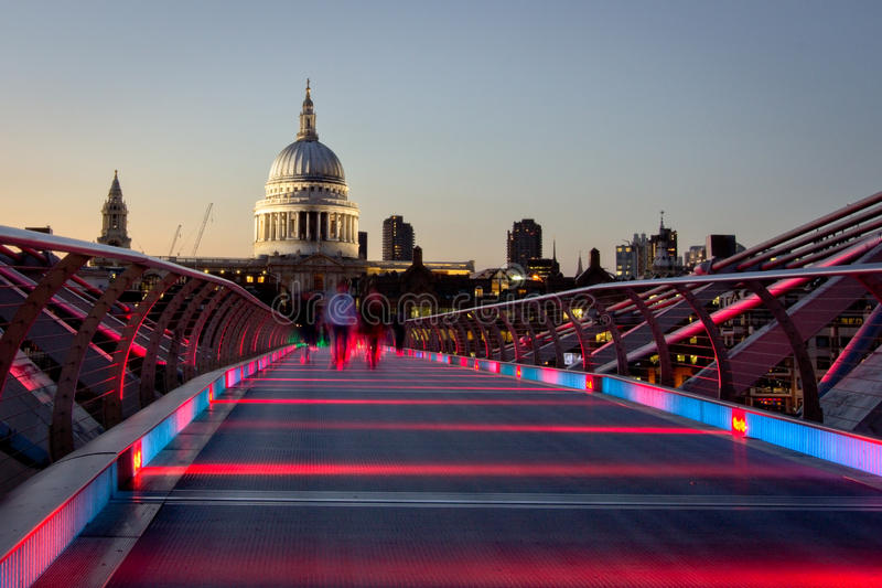 St Paul's Cathedral, London royalty free stock photo