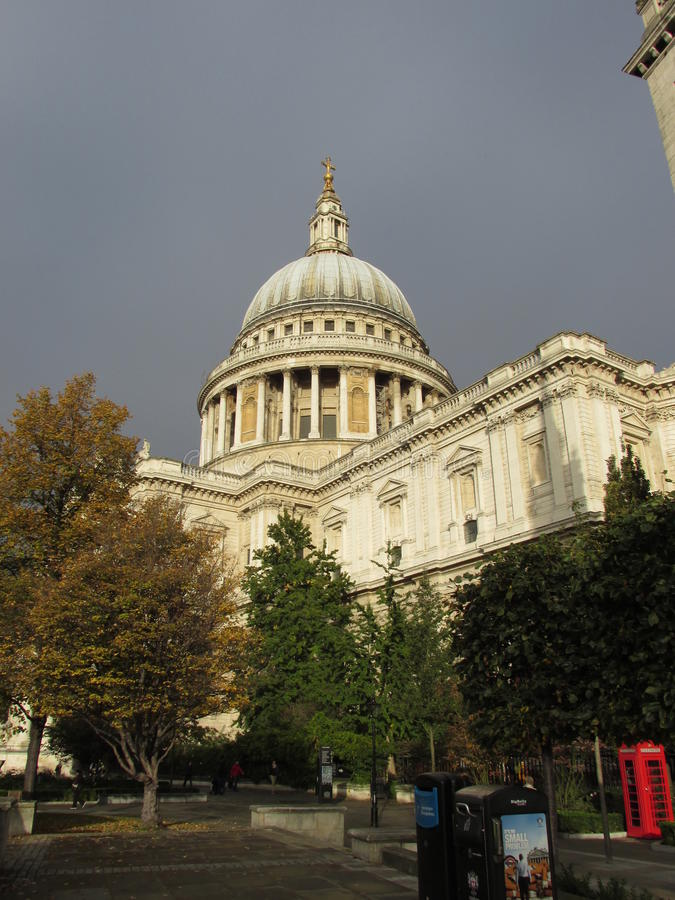 St. Paul's Cathedral, London, UK stock images