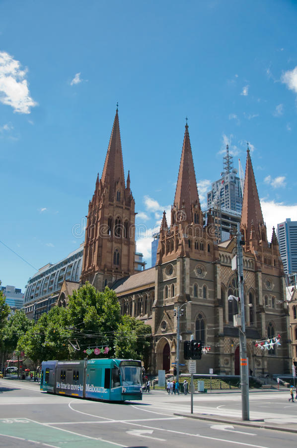 Free St. Paul S Cathedral, Melbourne, Australia Royalty Free Stock Photos - 30023928