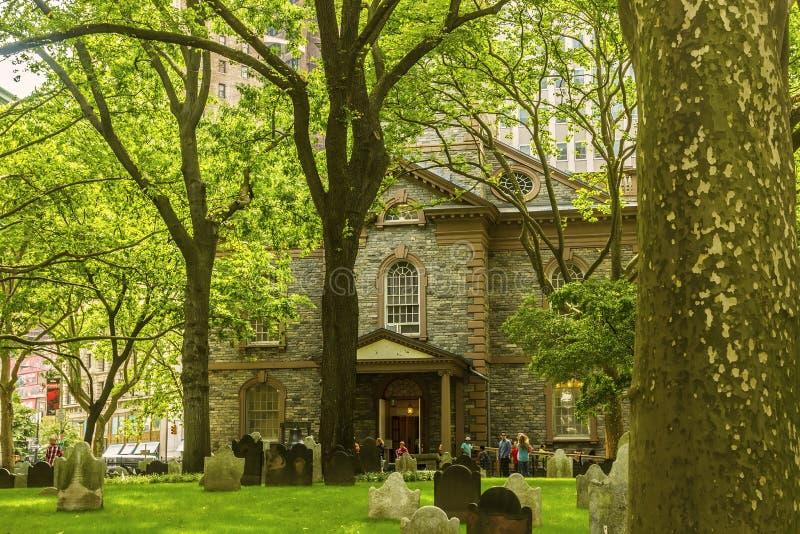 St. Paul S Chapel Editorial Photo