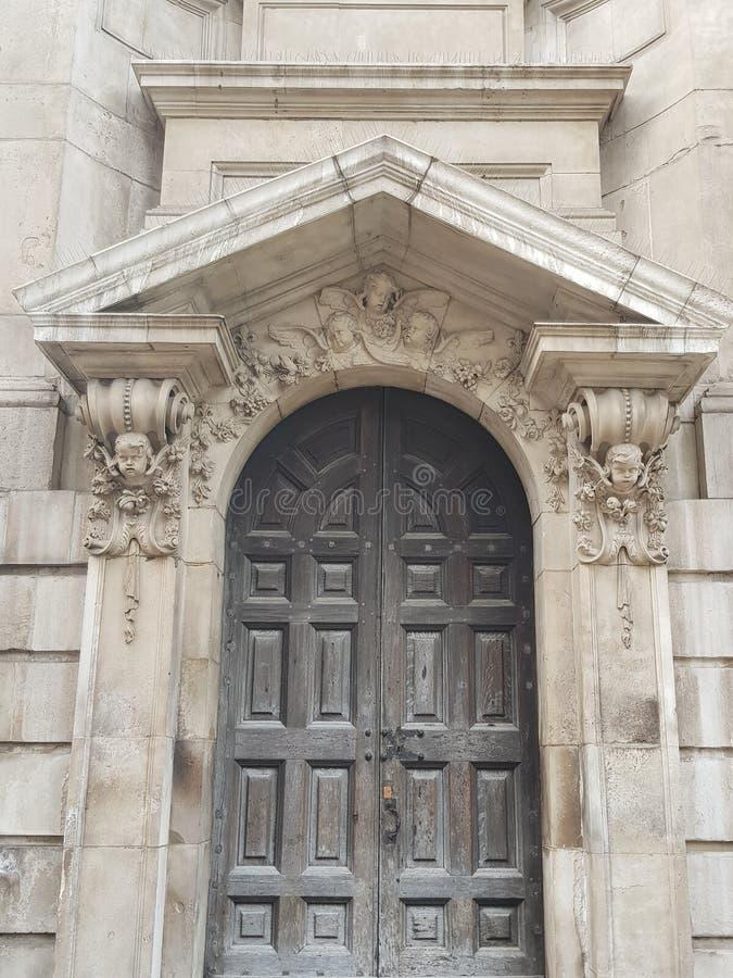 St Paul& x27; s drzwi obrazy royalty free