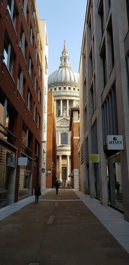 St Paul& x27; s katedra zdjęcie stock