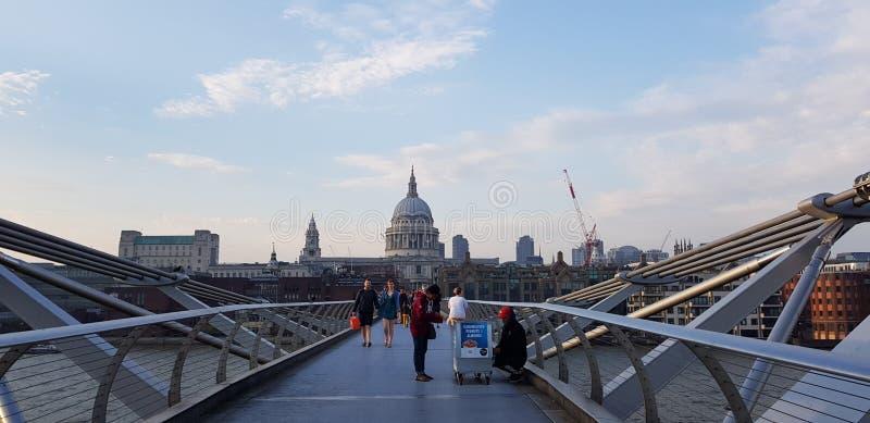 St Paul& x27; s katedra Londyn zdjęcie stock