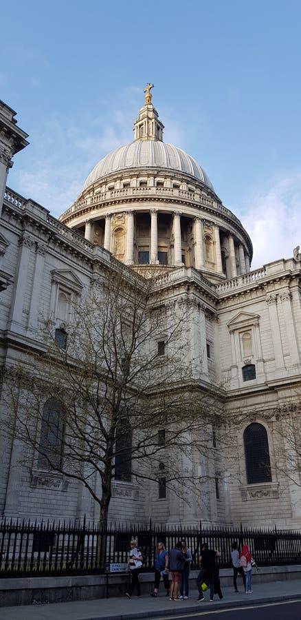 St Paul& x27; s katedra Londyn obraz royalty free