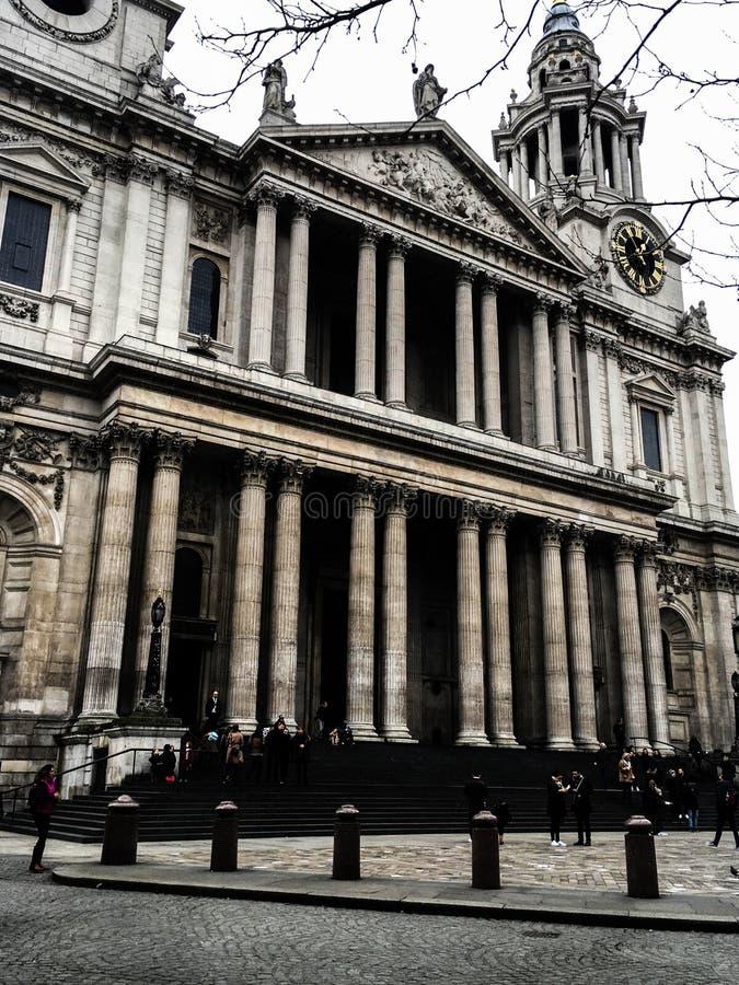 St Paul ` s, Londyn fotografia royalty free