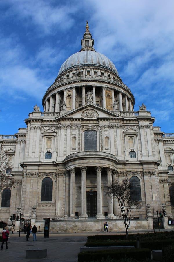St Paul van het winterkoninkje Kathedraal stock fotografie