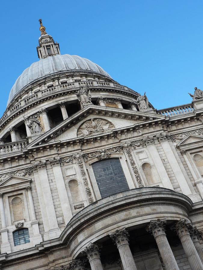 St Pauls Cathedral, Église Anglicane Londres photo stock