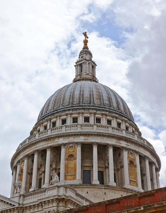 St Pauls Cathedral Royalty Free Stock Photo