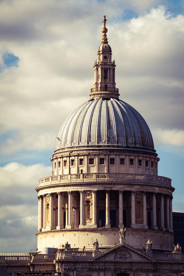 St Pauls Cathedral image stock