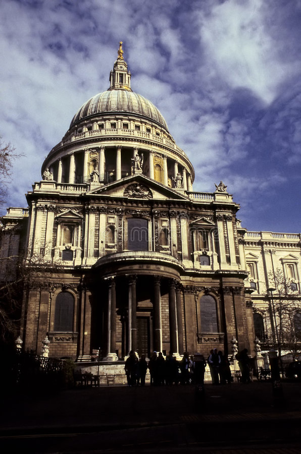 St. Pauls Cathedral- London royalty free stock photo