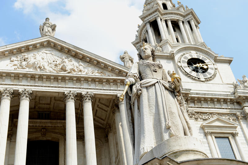 St Pauls Cathedral London stock fotografie