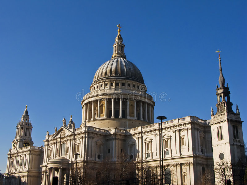 St Pauls Cathedral, London stock photos
