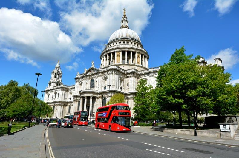 St Pauls Cathedral London Reino Unido fotografía de archivo libre de regalías