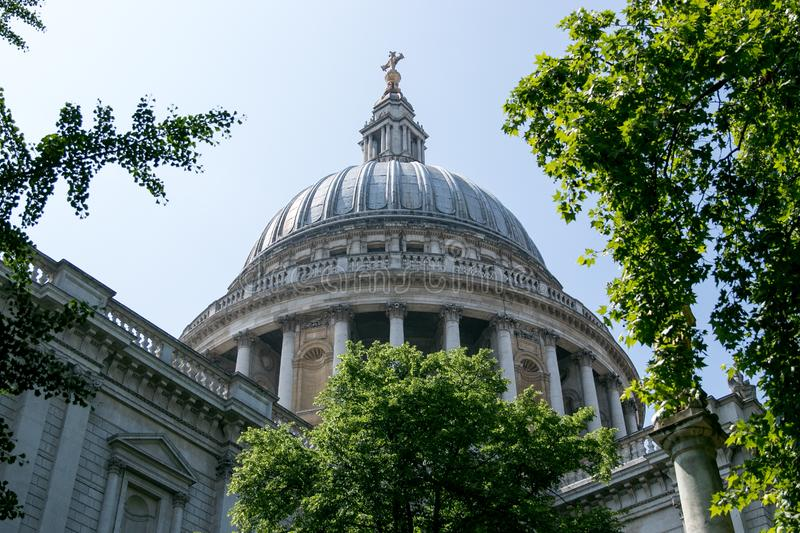 St Pauls Cathedral Londres fotos de stock royalty free