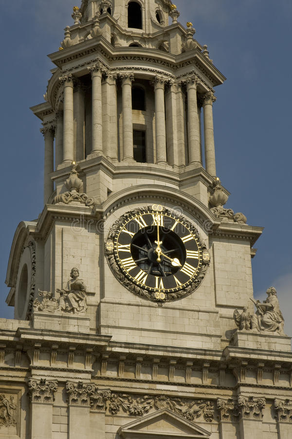 Download St pauls Cathedral's tower stock image. Image of london - 25077449